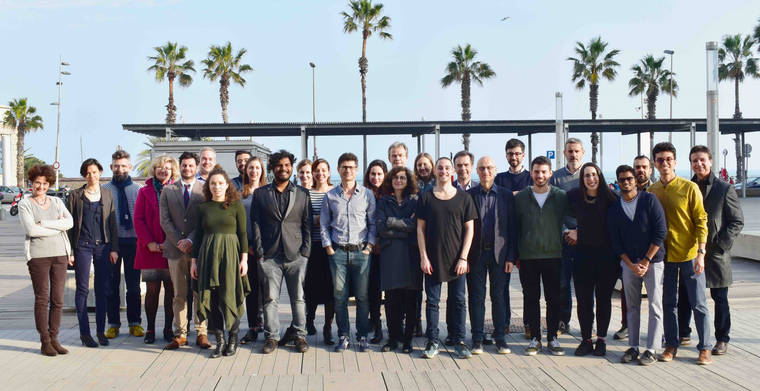 Science by the sea. When ChromDesign met in Barcelona to talk good science